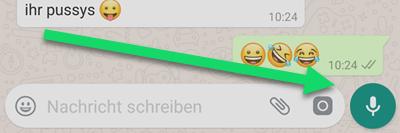 WhatsApp-Sprachnachrichten android