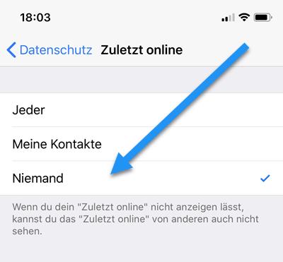 Whatsapp Online Status Verbergen Iphone Android