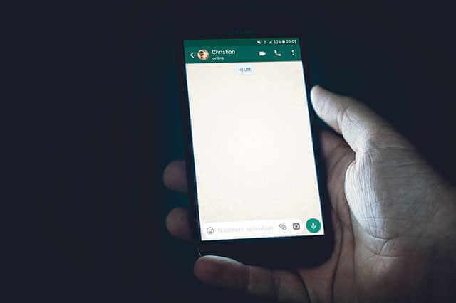 WhatsApp Bild Video Text weiterleiten